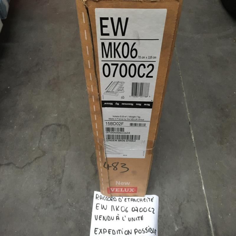 DESTOCKAGE : Raccord étanchéité VELUX ROUGE EW MK06 0700C2
