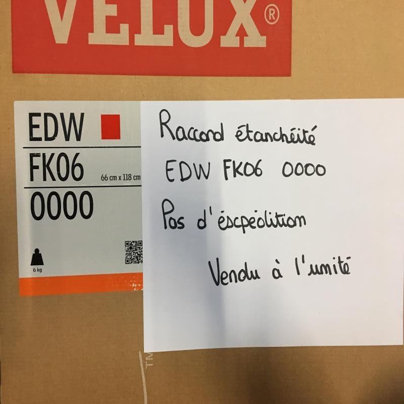 DESTOCKAGE : Raccord étanchéité VELUX EDW FK06 0000