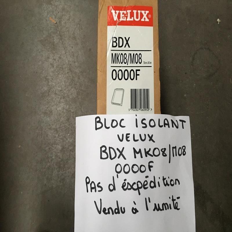 DESTOCKAGE : Bloc isolant VELUX BDX MK08/M08 0000F